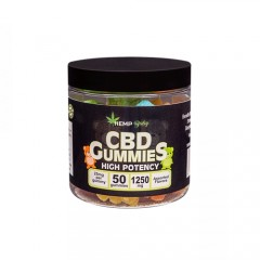 CBD グミ/1250mg ヘンプベイビー 1粒CBD25mg + CBN5mg 50個 / HEMP Baby CBD GUMMIES
