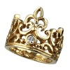 OPEN TIARA WITH DIAMOND 18K GOLD