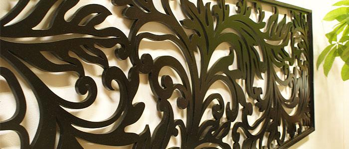 スタイリッシュな木製壁掛けのアートパネル アジアンインテリア&バリ雑貨 ES-STYLE(エス-スタイル)
