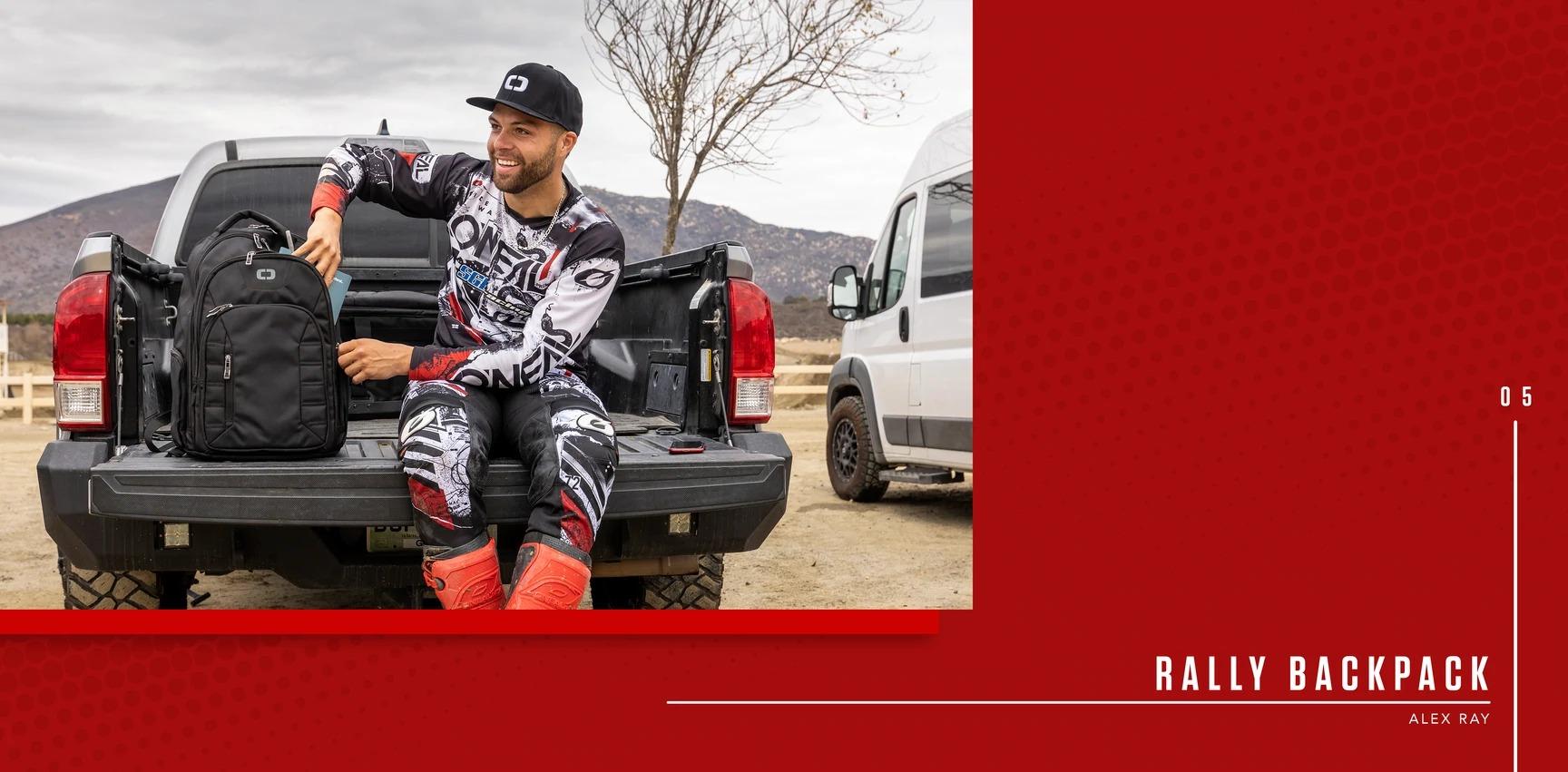 OGIOのバイク向けバッグ