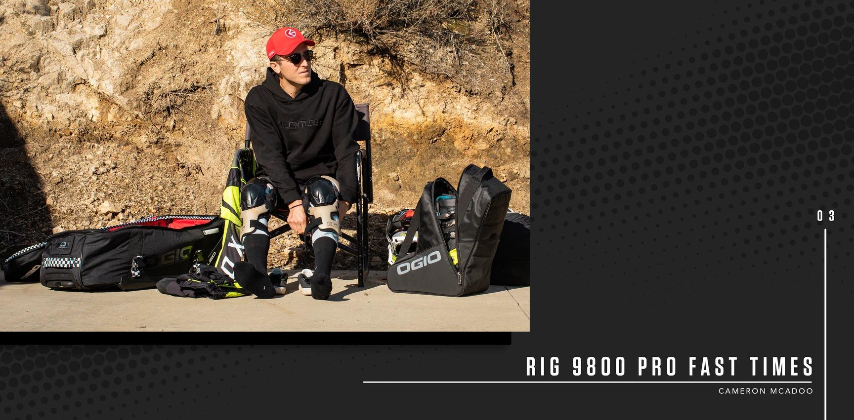 OGIOのオフロード向けハイドレーションバッグ