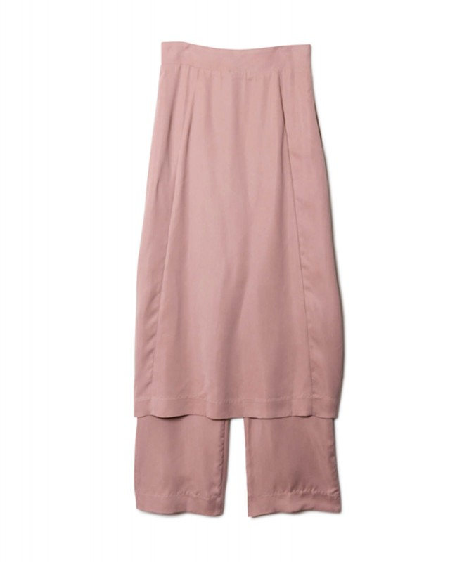 Cupra Skirt Pants / pink