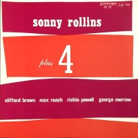 PLUS FOUR/SONNY ROLLINS/56年録音。'78国内盤。
