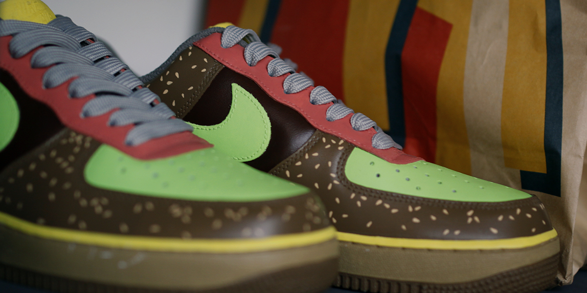 JACK DANIEL'S × THE SHOE SURGEON × AIR FORCE 1 LOW